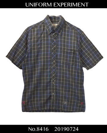 UNIFORM EXPERIMENTS / Check Shirt / 8416 - 0724 58.5