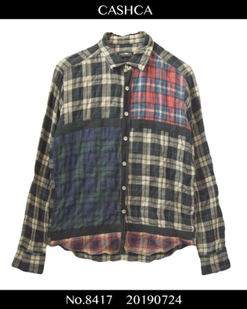 CASHCA / Check Shirt / 8417 - 0724 97