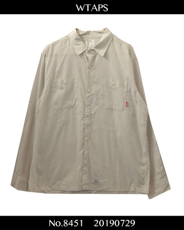 WTAPS / Work Shirt / 8451 - 0729 47.5