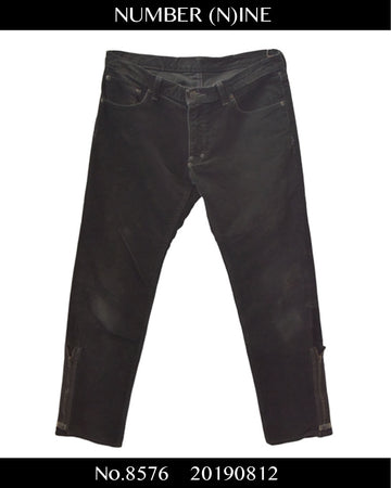 NUMBERNINE / Zip Pants / 8576 - 0812 55.2