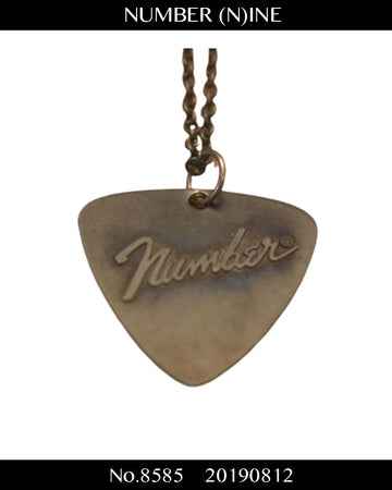 NUMBERNINE / Fender Logo Necklace / 8585 - 0812 71.7