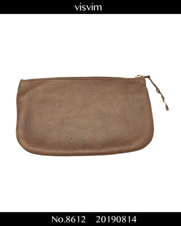 visvim / Leather Bank Pouch / 8612 - 0814 109.1