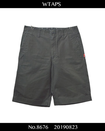 WTAPS / Cotton Short Pants / 8676 - 0823 51.9