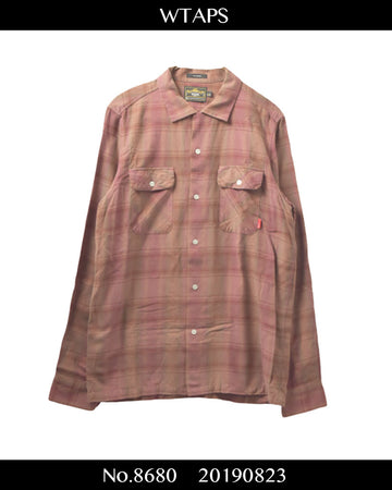 WTAPS / Check Shirt / 8680 - 0823 56.3