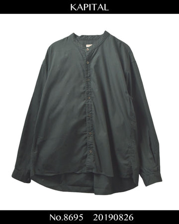 KAPITAL / No collar Shirt / 8695 - 0826 58.5