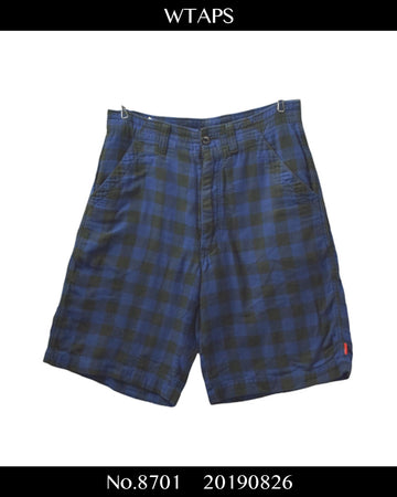 WTAPS / Check Short Pants / 8701 - 0826 54.1