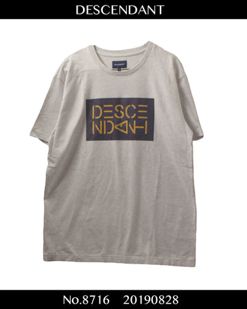 DESCENDANT / Logo Shirt / 8716 - 0828 42