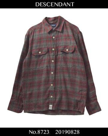 DESCENDANT / Check Shirt / 8723 - 0828 75