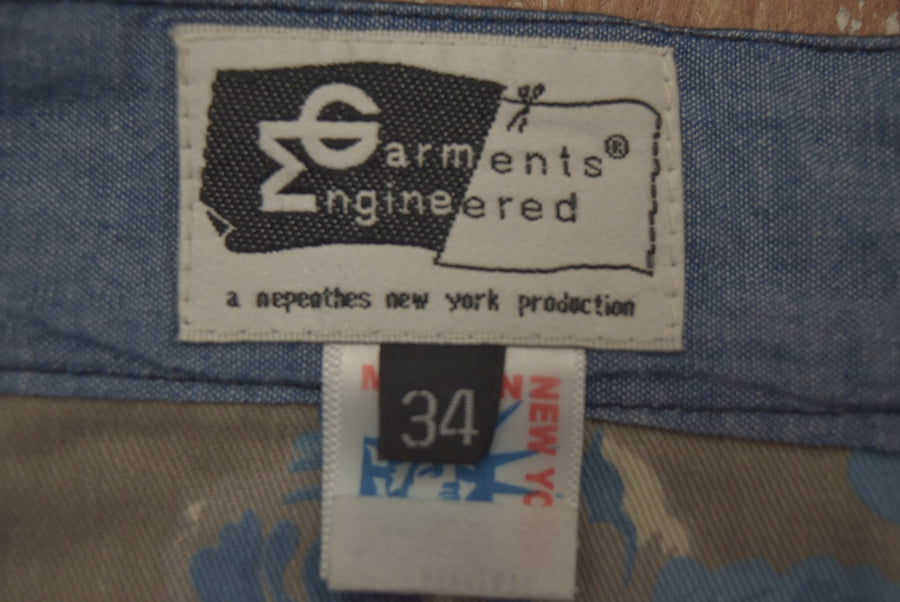 Engineered Garments / Strype Work Pant / 8749 - 0830 51.9