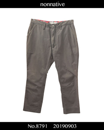 nonnative / DWELL Cropped Pants / 8791 - 0903 36.5