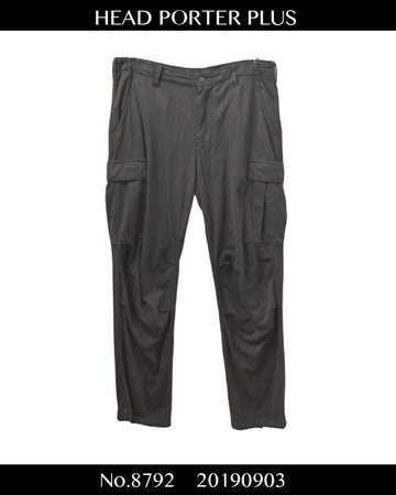 HEAD PORTER PLUS / Cropped Cargo Pants / 8792 - 0903 39.8