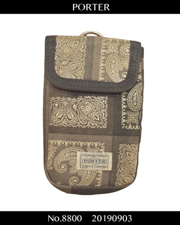 PORTER / Paisley Small Pouch / 8800 - 0903 38.7
