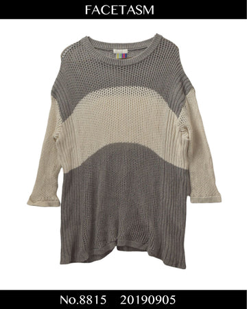 FACETASM / Mesh Knit Shirt / 8815 - 0905 53