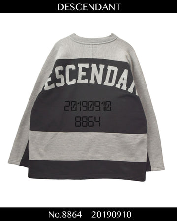 DESCENDANT /Shirt / 8864 - 0910 80.5