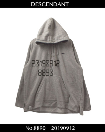 DESCENDANT / Sweat Hoodie / 8890 - 0912 75 / JP ARCHIVES