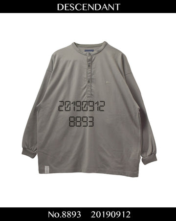 DESCENDANT /Shirt / 8893 - 0912 53 / JP ARCHIVES