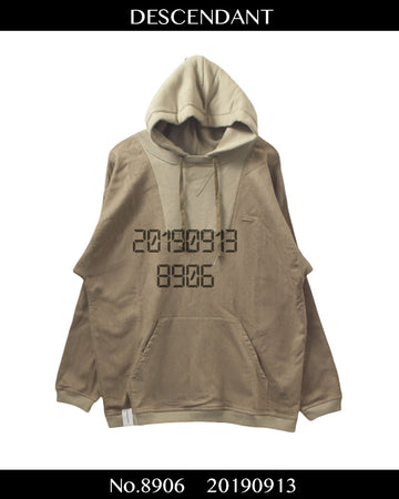 DESCENDANT / Switch Sweat Hoodie / 8906 - 0913 86