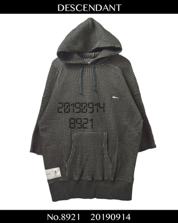 DESCENDANT / Logo Thermal Hoodie / 8921 - 0914 69.5