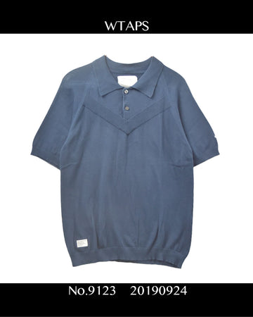 WTAPS / Knit Polo Shirt / 9123 - 0924 50.8 / JP ARCHIVES