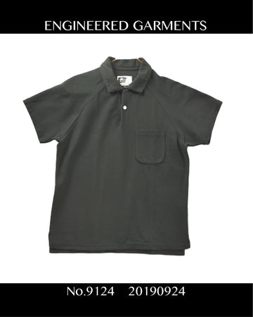Engineered Garments / Raglan Polo Shirt / 9124 - 0924 44.2
