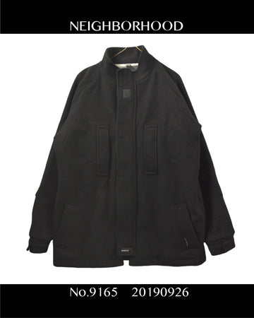 NEIGHBORHOOD / Black Tech Coat / 9165 - 0926 87.276