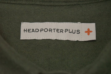 HEAD PORTER PLUS / Plain Nel Shirt / 9170 - 0926 40.702