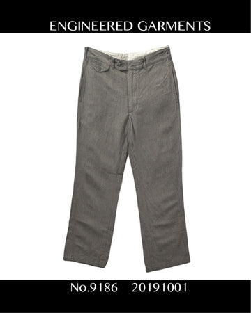 Engineered Garments / Slacks Pants / 9186 - 1001 49.26