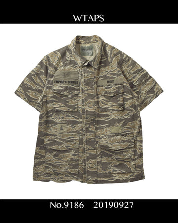 WTAPS / Tiger Camo Military Shirt / 9186 - 0927 75.396