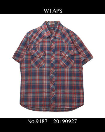 WTAPS / Western Check Shirt / 9187 - 0927 58.764