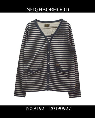 NEIGHBORHOOD / Border Cardigan / 9192 - 0927 40.768