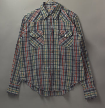BAPE / Western Check Shirt / 9235 - 0929 55.2