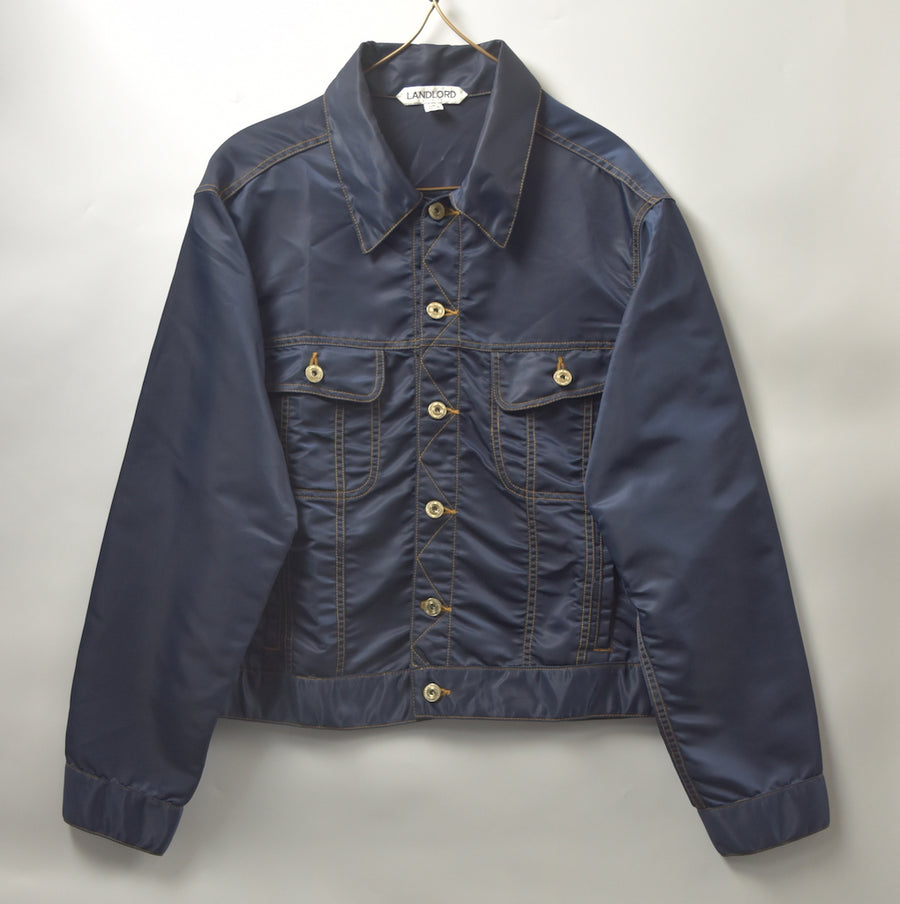 LANDLORD / Nylon Denim Jacket / 9249 - 0930 108