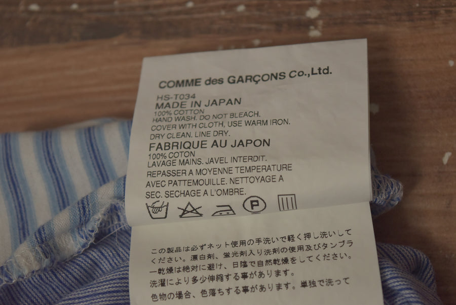 COMME des GARCONS / Switch Border Shirt / 9255 - 0930 47.5