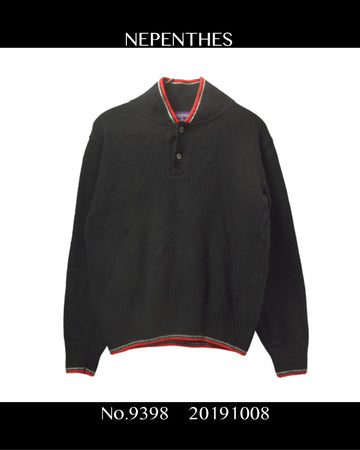 NEPENTHES / Knit Polo Shirt / 9398 - 1008 43.1