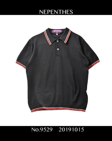NEPENTHES / Line Polo Shirt / 9529 - 1015 42