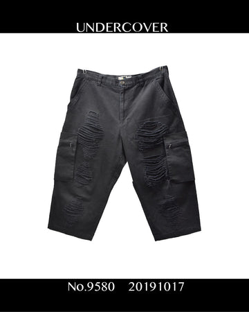 UNDERCOVER / Damaged Cropped Pants / 9580 - 1017 75