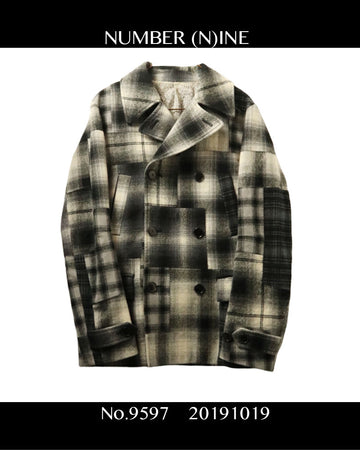 NUMBERNINE / Patchwork Check Jacket / 9597 - 1018 465.5