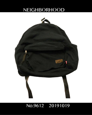 NEIGHBORHOOD / Black Backpack / 9612 - 1018 69.5