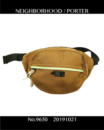 NEIGHBORHOOD / × PORTER Waist Bag / 9650 - 1021 38.7
