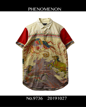 PHENOMENON/ Traditional Graphic Shirt/ 9736 - 1027 64