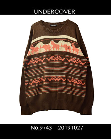 UNDERCOVER / Knit sweater / 9743 - 1027 113.5