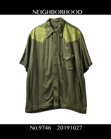 NEIGHBORHOOD / Wester Work Shirt/ 9746 - 1027 40.9