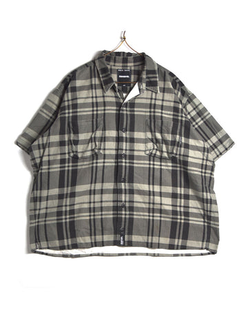 NEIGHBORHOOD / Grey Check Shirt