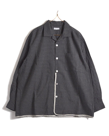 COMME des GARCONS HOMME / Bigsizing Piping Check Shirt