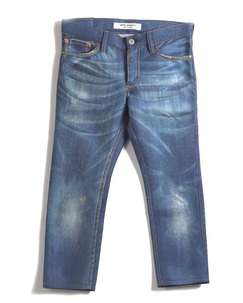 JUNYA WATANABE MAN COMME des GARCONS / Denim Printed Pants