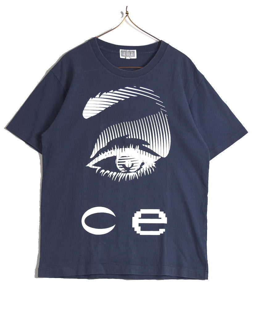 C.E. / C.E Big Logo Black Crew Neck T-shirt