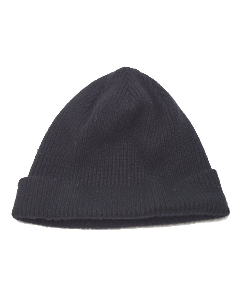 JUNYA WATANABE MAN COMME des GARCONS / Black Big Size Knit Cap