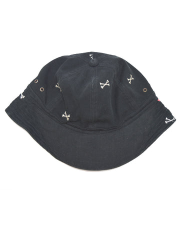 WTAPS / Cross Born Embroidery Bucket Hat