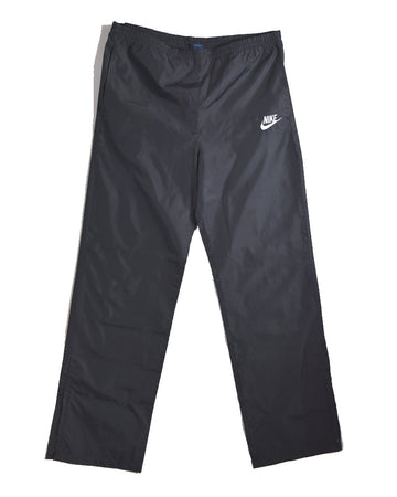 NIKE / 80s Black Nylon Pants