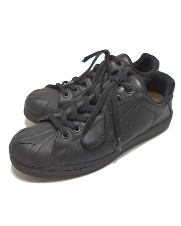 BAPE / Black Leather Sneaker